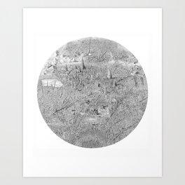 A Single Note Art Print