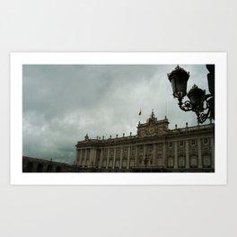 Palacio Real Art Print