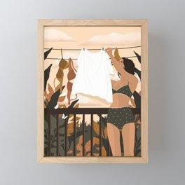 Mundane Morning Framed Mini Art Print