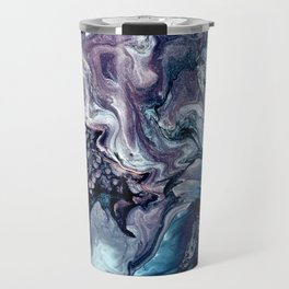 Obsession in blue Travel Mug