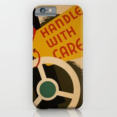 Vintage Poster Handle with care Slim Case iPhone 6s