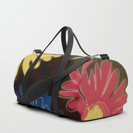 Pop Art Daisies Duffle Bag
