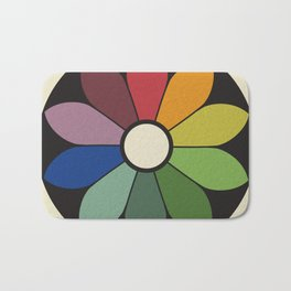 James Ward's Chromatic Circle Bath Mat