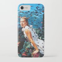 kate moss iPhone & iPod Cases featuring Kate Moss by John Turck