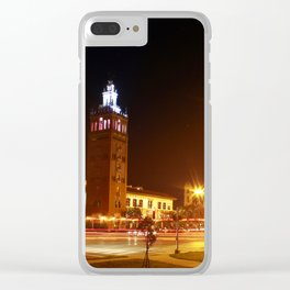 JC Nichols Memorial Fountain Clear iPhone Case