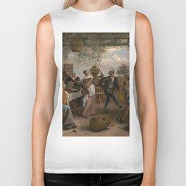 Jan Steen The Dancing Couple 1663 Painting Biker Tank