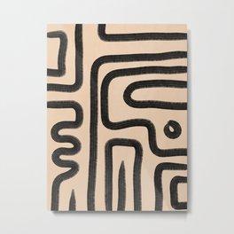 abstrait I Metal Print