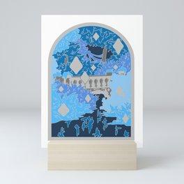 Moonlight Garden Mini Art Print