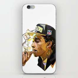 Hip-hop cubism iPhone Skin