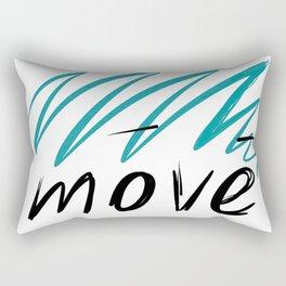move Rectangular Pillow