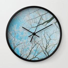 April Winters Bring Me... Photo Ops Wall Clock