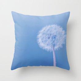Tranquil Dandelion Throw Pillow