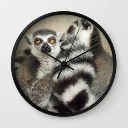 Cuddle up! Wall Clock