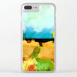 Near the ocean Clear iPhone Case