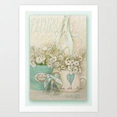 Fluers  Art Print