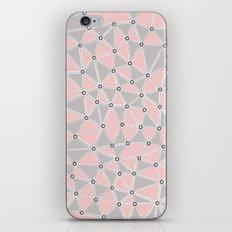 Seg African Grey and Pink iPhone Skin