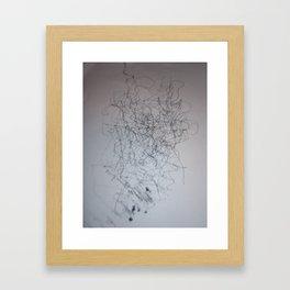 lines number 2 Framed Art Print