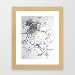 space barbarian Framed Art Print