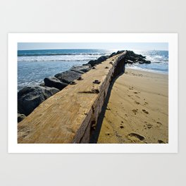 Beach Wandering  Art Print