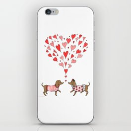 Puppy Love iPhone Skin