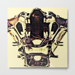 ARMURE Metal Print