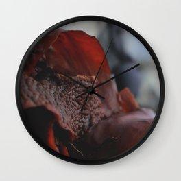Seaing red Wall Clock