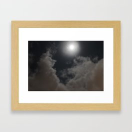 Moon Knight Framed Art Print