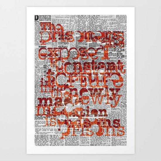 The Prisoners Art Print