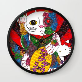 Psychedelic Senman Wall Clock