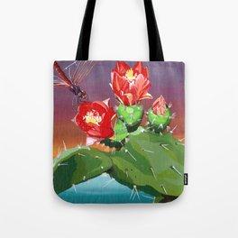 Cactus racket Tote Bag