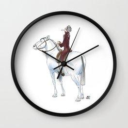 Numero 5 -Cosi che cavalcano Cose - Things that ride Things- Wall Clock