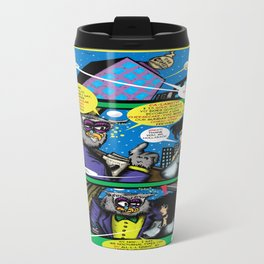 Bird of Steel Comix – 6 of 8 (Society 6 POP-ART COLLECTION SERIES)   Travel Mug