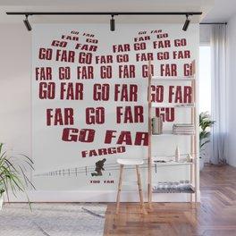 Go Far Wall Mural