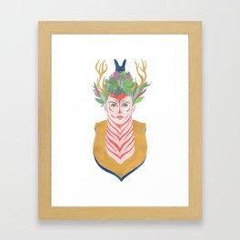 Woman Envy Framed Art Print