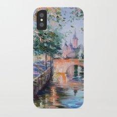 Town bridge iPhone X Slim Case
