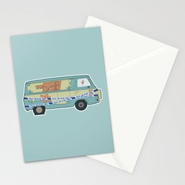 Busted: Mystery Machine Stationery Cards