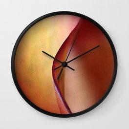 Calla Lily AbstractII Wall Clock