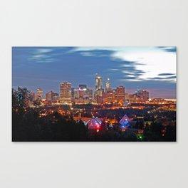 Edmonton Sky Canvas Print