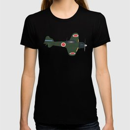 Japanese WWII Zero Fighter Plane T-shirt