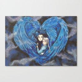 Howl's Heart Canvas Print