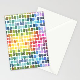 Watercolor Swatches Stationery Cards