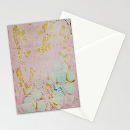 Ginger Root Hand Marbleized Stationery Cards