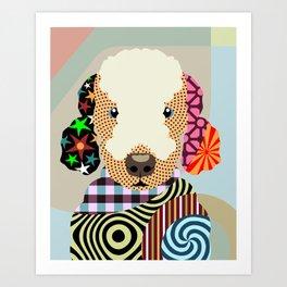Bedlington Terrier Art Print