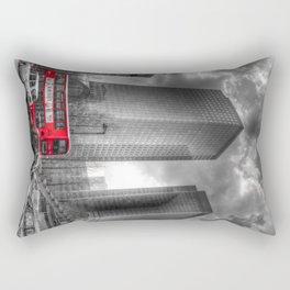 Double Decker London Bus Rectangular Pillow