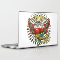 propaganda Laptop & iPad Skins featuring Graphic propaganda by Tshirt-Factory