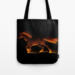 Fire Trail Horse Tote Bag