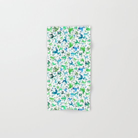 Tree Frogs Hand & Bath Towel