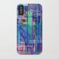 plaid iPhone & iPod Cases featuring Plaid by Julie M Studios