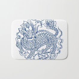Chinese Kylin Bath Mat