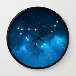 Capricorn: Astrological Art Wall Clock